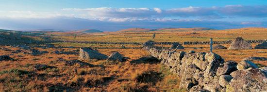 Mur de pierre en Aubrac - Tirage photo seul