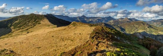 Puy de La Poche, Cantal - Tirage photo