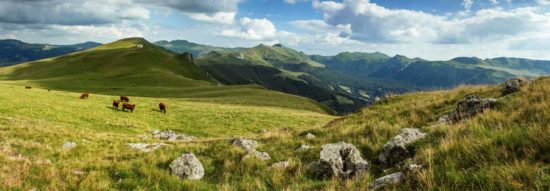 Plateau du Luchard, Cantal - Tirage photo