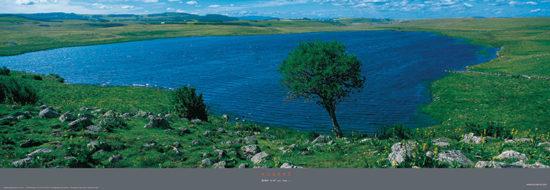 Le Lac de Saint-Andéol - Poster panoramique