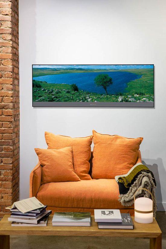 """Poster """"Le Lac de Saint-Andéol"""" mise en scène"""