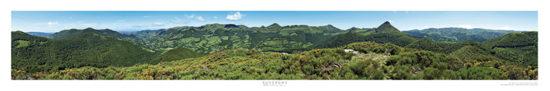 Poster 360° « Les Monts du Cantal »