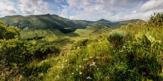 Vallée de l'Impradine, Cantal - Tirage photo