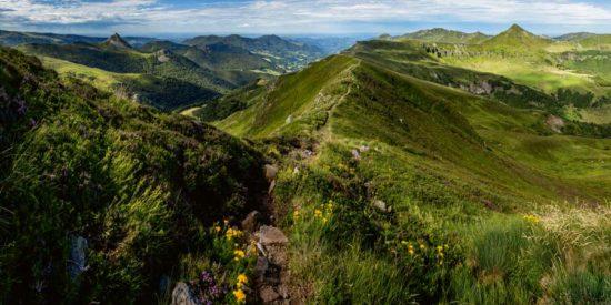 Crête vers le Peyre Arse, Cantal - Tirage photo