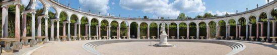 Château de Versailles, colonnade de Mansart - Tirage photo