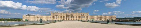 Château de Versailles, vu du Parterre d'eau - Tirage photo