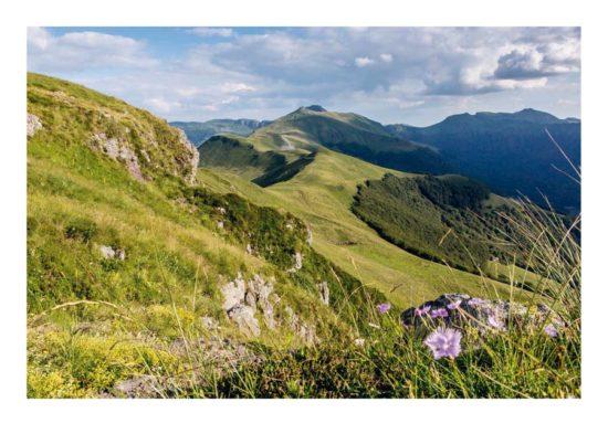 Vue du Peylat, Cantal - Tirage photo