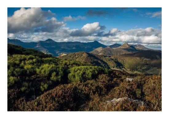 Monts du Cantal - Tirage photo